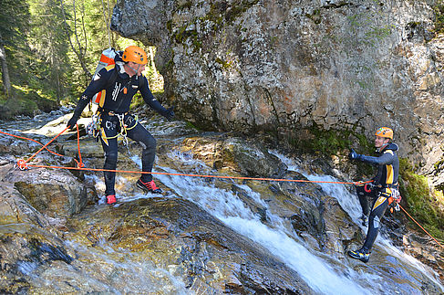 Canyoning in der Wildkogel Arena